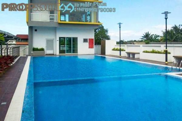 For Rent Condominium at Kelisa Heights, Seberang Jaya Freehold Semi Furnished 4R/2B 1.2k