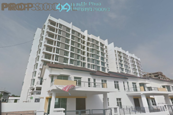 For Rent Condominium at Kelisa Heights, Seberang Jaya Freehold Semi Furnished 4R/2B 1.1k