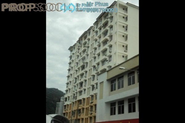 For Rent Apartment at Permai Ria, Tanjung Bungah Freehold Fully Furnished 3R/2B 1.05k