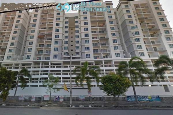 For Rent Apartment at Tanjung Permai Apartment, Butterworth Freehold Unfurnished 3R/2B 1k