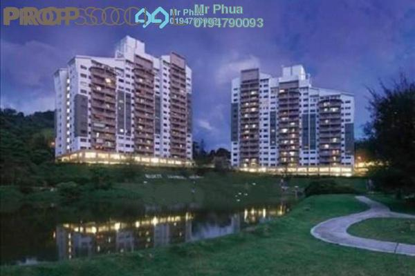 For Rent Condominium at Lakeside Tower, Bukit Jambul Leasehold Fully Furnished 3R/2B 1.6k