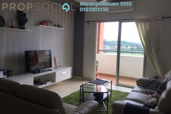 For Sale Apartment at Fortune Park, Kepong Leasehold Fully Furnished 4R/2B 500k