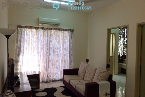 For Sale Apartment at Bayu Villa, Klang Freehold Semi Furnished 3R/2B 250k