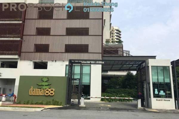 For Rent Condominium at Damai 88, Ampang Hilir Freehold Fully Furnished 3R/2B 7k