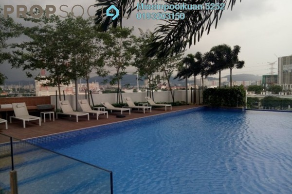 For Rent Serviced Residence at Sentrio Suites, Desa Pandan Leasehold Semi Furnished 0R/0B 2.3k