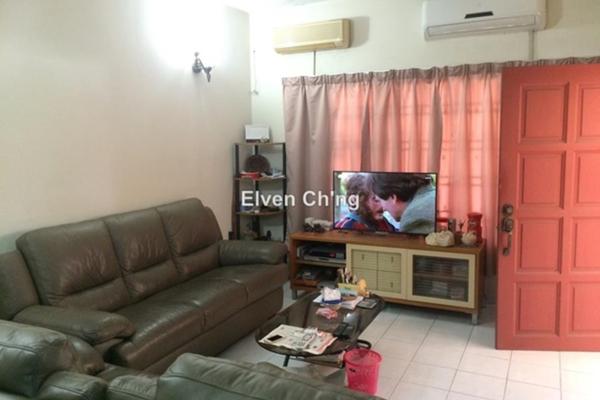 For Sale Terrace at Anggerik Doritis, Kota Kemuning Freehold Semi Furnished 4R/3B 720k