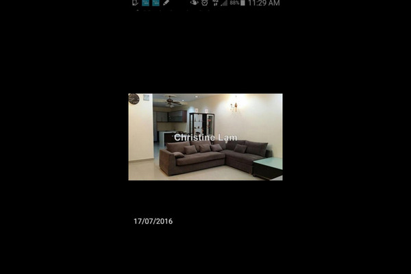 For Rent Terrace at Canal Gardens, Kota Kemuning Freehold Fully Furnished 4R/4B 2.2k