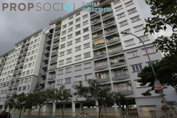 For Rent Condominium at Vista Harmoni, Cheras South Freehold Semi Furnished 3R/2B 1.2k