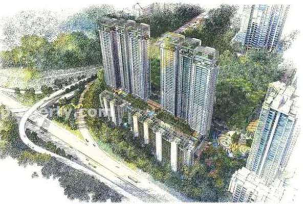 For Sale Condominium at Seni, Mont Kiara Freehold Semi Furnished 4R/5B 2.35m