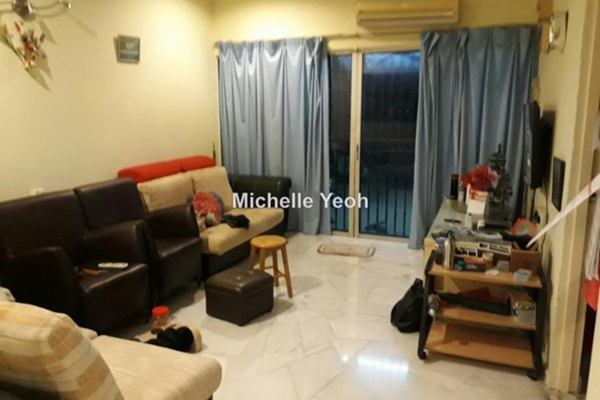 For Rent Terrace at Taman Continental, Kuchai Lama Leasehold Fully Furnished 3R/2B 1.9k