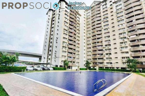 For Rent Condominium at Sentul Utama Condominium, Sentul Leasehold Semi Furnished 3R/2B 1.1k