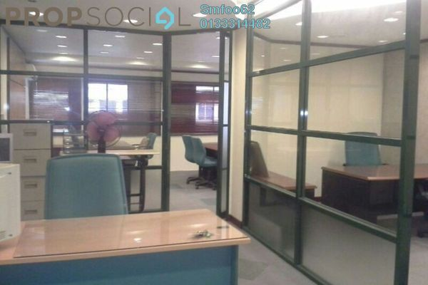 For Rent Office at Taman Sri Rampai, Setapak Leasehold Fully Furnished 0R/0B 5k