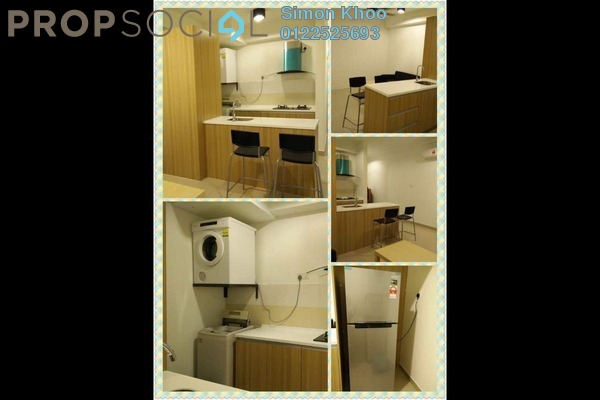 For Rent Serviced Residence at Pacific Place, Ara Damansara Leasehold Fully Furnished 0R/1B 1.6k