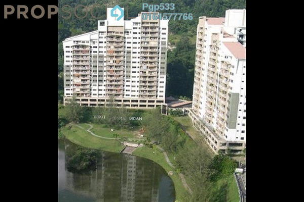 For Rent Condominium at Lakeside Tower, Bukit Jambul Leasehold Semi Furnished 3R/2B 800translationmissing:en.pricing.unit