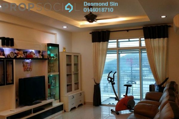 For Sale Condominium at Reflections, Sungai Ara Freehold Semi Furnished 4R/9B 800k