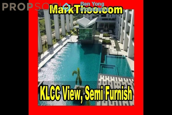 For Rent Condominium at Kiara Residence 2, Bukit Jalil Leasehold Semi Furnished 4R/3B 2k