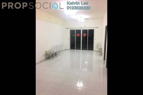 For Rent Condominium at Silk Residence, Bandar Tun Hussein Onn Freehold Semi Furnished 3R/2B 1.2k