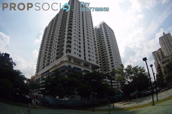 For Rent Condominium at Sentul Rafflesia, Sentul Freehold Semi Furnished 3R/2B 1.9k
