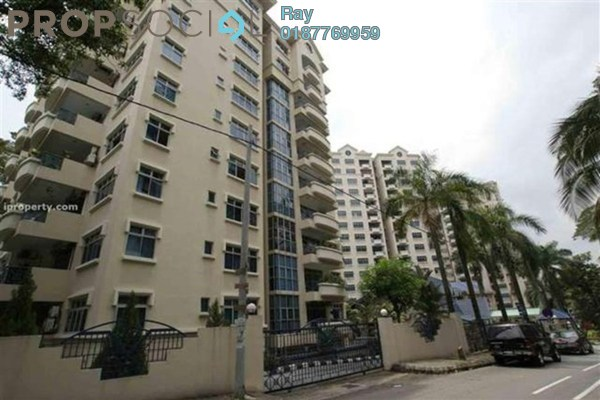 For Rent Condominium at Bayu Angkasa, Bangsar Freehold Fully Furnished 3R/2B 2.8k