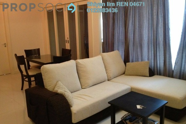For Rent Condominium at Tiffani Kiara, Mont Kiara Freehold Fully Furnished 2R/2B 3.3k