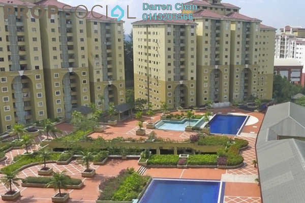 For Rent Condominium at Ketumbar Heights, Cheras Freehold Semi Furnished 3R/2B 1.2k