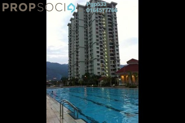 For Rent Apartment at Taman Kristal, Tanjung Tokong Freehold Fully Furnished 3R/2B 1.15k