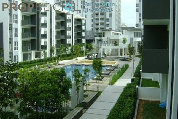 For Rent Condominium at The Sanderson, Seri Kembangan Freehold Fully Furnished 3R/2B 1.8k