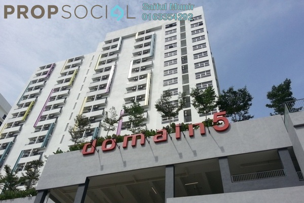 For Rent SoHo/Studio at The Domain, Cyberjaya Freehold Fully Furnished 2R/1B 1.35k