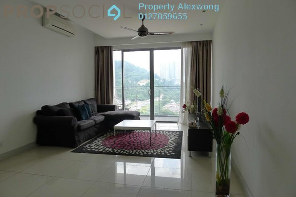 For Rent Condominium at First Residence, Kepong Leasehold Fully Furnished 3R/2B 1.85k