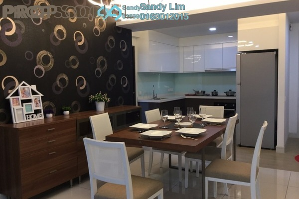 For Sale Condominium at Royalle Condominium, Segambut Freehold Semi Furnished 3R/2B 720k