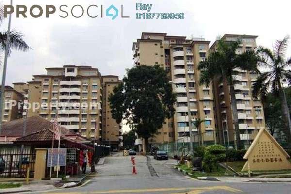 For Rent Condominium at Sri Desa, Kuchai Lama Freehold Fully Furnished 3R/2B 1.7k