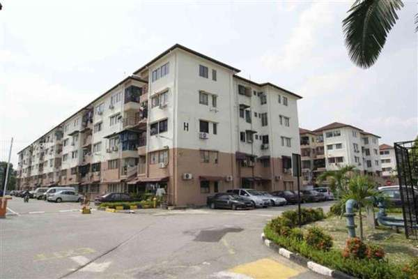 For Rent Apartment at Sri Anggerik 1, Bandar Kinrara Freehold Fully Furnished 3R/2B 1.19k