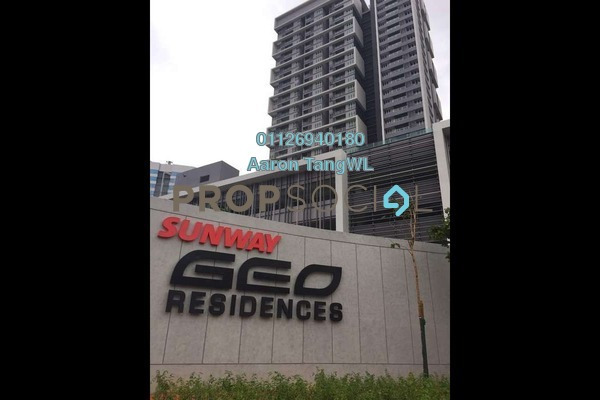 For Rent Condominium at Sunway GEO Residences, Bandar Sunway Leasehold Semi Furnished 2R/2B 2.75k