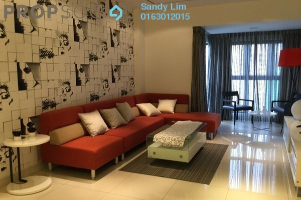 For Sale Condominium at Royalle Condominium, Segambut Freehold Semi Furnished 2R/2B 630k