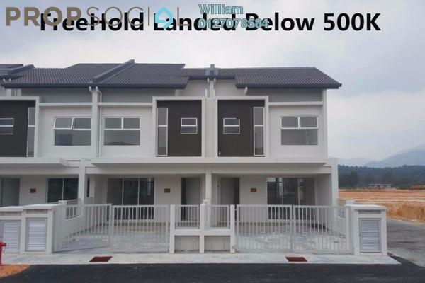 For Sale Terrace at Bandar Rinching, Semenyih Freehold Unfurnished 4R/4B 480k