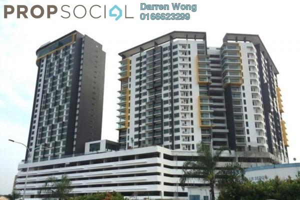 For Rent Serviced Residence at Zeva, Bandar Putra Permai Leasehold Semi Furnished 0R/1B 480translationmissing:en.pricing.unit