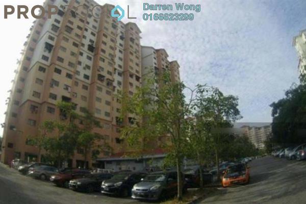For Sale Apartment at Kasturi Apartment, Bandar Sri Permaisuri Freehold Semi Furnished 3R/2B 220k