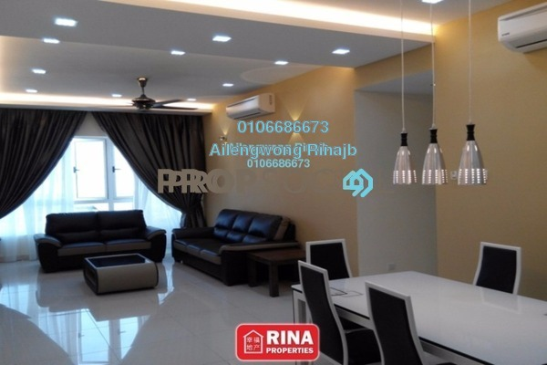 For Rent Condominium at Tropez Residences, Danga Bay Freehold Fully Furnished 2R/2B 2.6k