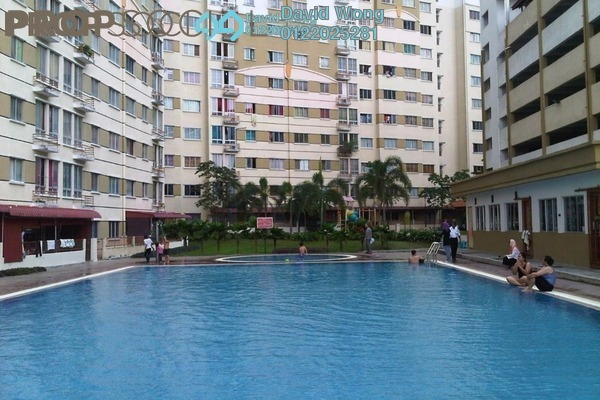 For Rent Apartment at Vista Impiana Apartment, Seri Kembangan Leasehold Fully Furnished 3R/2B 1.1k