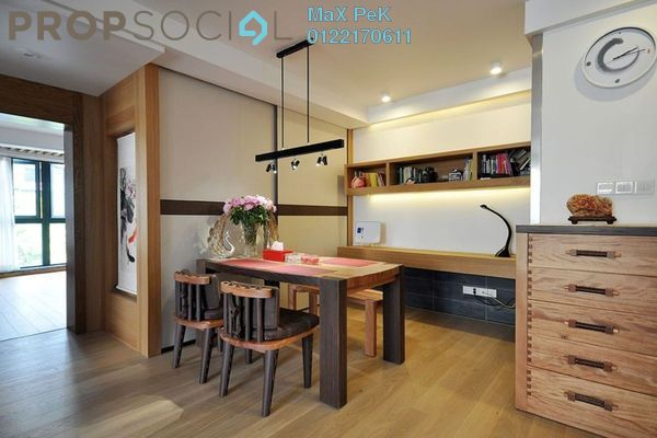For Sale Condominium at Rica Residence, Sentul Freehold Unfurnished 2R/2B 569k