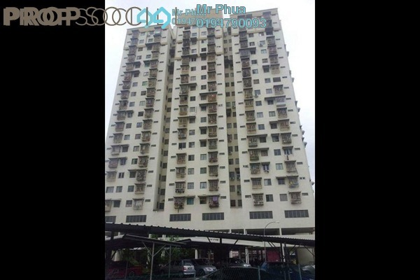 For Rent Apartment at Desa Indah, Relau Freehold Semi Furnished 3R/2B 1k