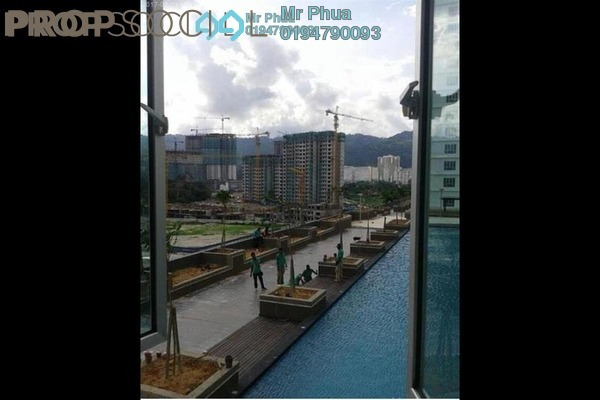 For Rent Condominium at The Golden Triangle, Relau Freehold Unfurnished 3R/2B 1.1k
