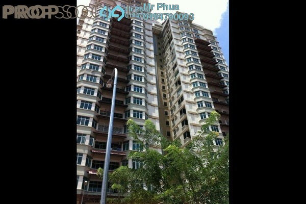 For Rent Condominium at Ixora Heights, Sungai Nibong Freehold Fully Furnished 3R/2B 1.4k