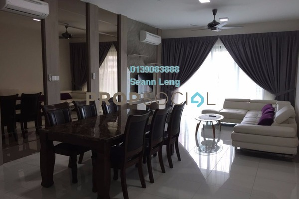 For Rent Serviced Residence at Isola, Subang Jaya Freehold Fully Furnished 3R/4B 5k