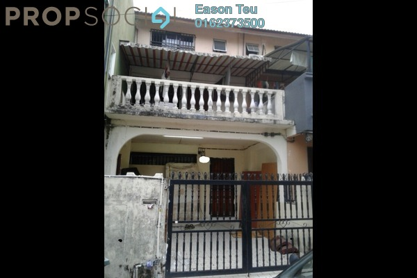 For Sale Terrace at Taman Sri Sinar, Segambut Freehold Semi Furnished 3R/3B 425k