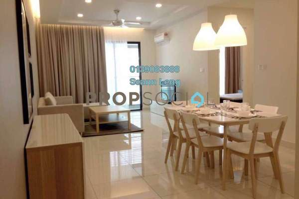 For Rent Serviced Residence at Isola, Subang Jaya Freehold Fully Furnished 2R/2B 4.2k
