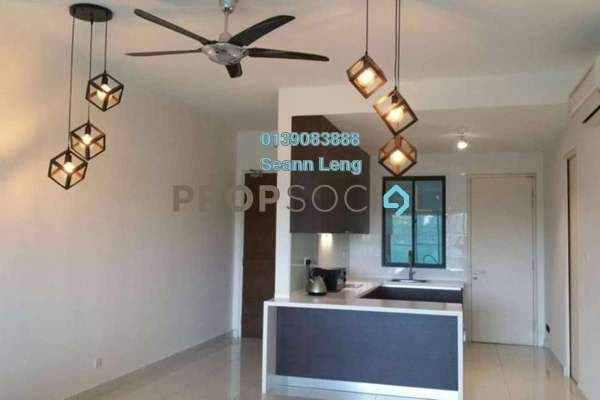 For Rent Serviced Residence at Isola, Subang Jaya Freehold Fully Furnished 2R/2B 4.7k