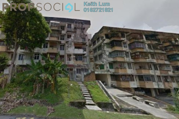 For Sale Apartment at Taman Segar, Cheras Leasehold Unfurnished 2R/1B 150k