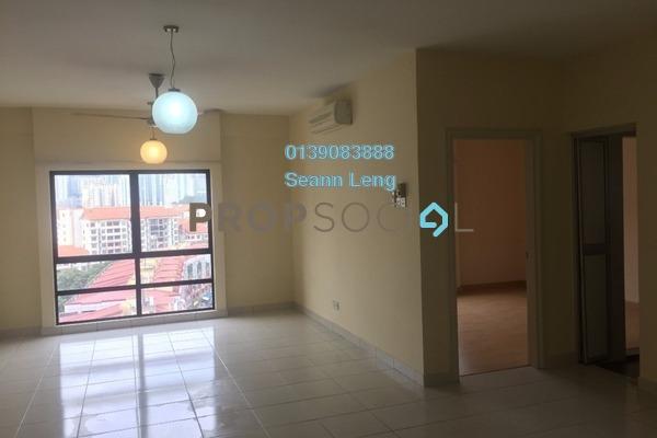 For Rent Condominium at Pelangi Damansara Sentral, Mutiara Damansara Leasehold Semi Furnished 1R/1B 1.2k