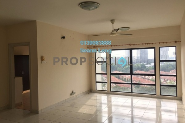 For Rent Condominium at Pelangi Damansara Sentral, Mutiara Damansara Leasehold Semi Furnished 2R/2B 1.35k